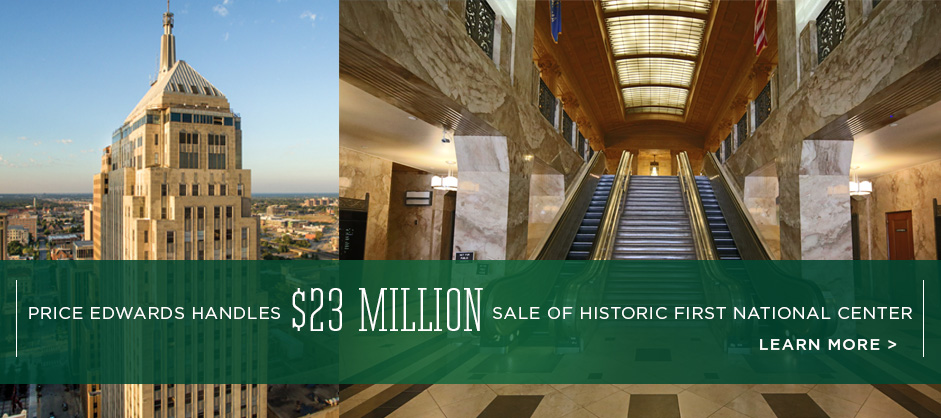 Price Edwards Brokers Sale of Historic First National Center
