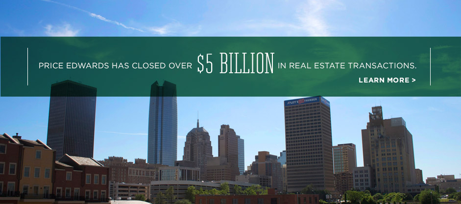 Price Edwards has closed over $5 billion in Real Estate Transactions.