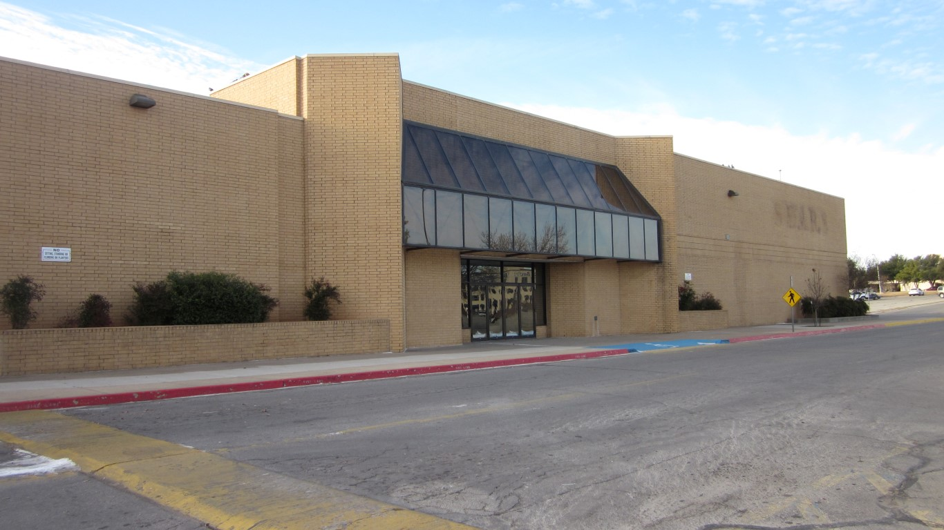 Sears Lawton Ok >> Former Sears Space In Central Mall For Sublease Lawton