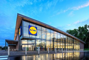 Brick and Mortar Retail is Not Dead - Rendering of Lidl's first US location in Fredericksburg, Virginia; courtesy of Business Insider