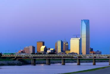 Downtown OKC Skyline Photo