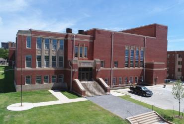 Aerial Photo of the Douglass at Page Woodson