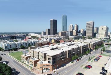 Aerial Photo of the Maywood Apartments, OKC,OK