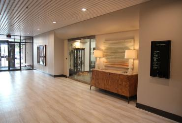 Lobby of the Commerce Center, 9520 N May Avenue