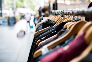 stock image of clothes