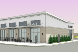 1714 NW 23rd St retail build to suit - Oklahoma City, Ok rendering
