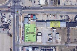 May Ave & Reno Ave - Industrial | Office Spaces Available for lease, Oklahoma City, Ok aerial