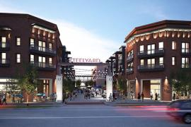 The Steelyard retail space for lease rendering