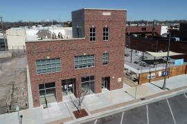 Prairie Tower-227 W Main, Norman-Office & Retail space for lease exterior front of building