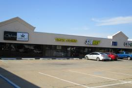 Memorial Road Plaza retail space for lease Oklahoma City, OK exterior photo