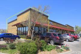 15th Street Station retail/office space for lease Edmond, OK exterior photo