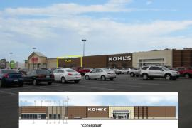 Kohl's Center retail space for lease exterior photo