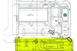 Shoppes at East Covell - Ground Lease or Build to Suit retail space overall site plan