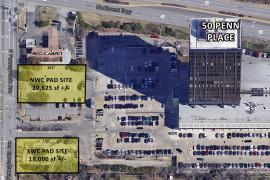 50 Penn pad site ground lease aerial