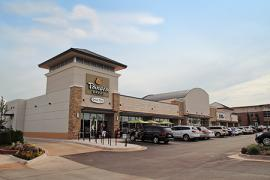 Shoppes at McAuley Plaza retail space for lease exterior photo