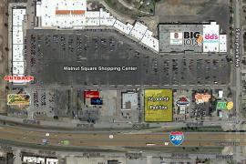 Walnut Square - Pad Site retail space for lease or build to suit Oklahoma City, OK aerial