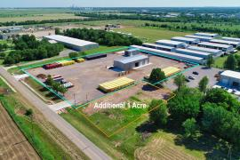 Aerial View of industrial space for lease