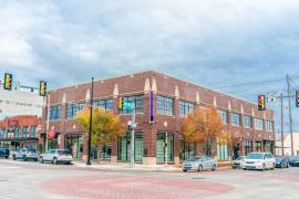 Pontiac Building retail/office space for lease exterior photo
