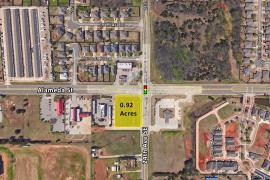 24th Ave NE & Alameda land for sale Norman, OK aerial