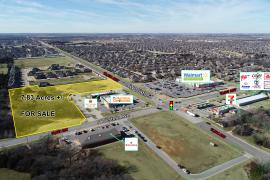 164th & N Western - retailers aerial - 7.83 acres for sale Oklahoma City, OK - Edmond, OK