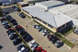 Industrial Property for Sale - 6209 & 6417 S. Sooner Road - aerial