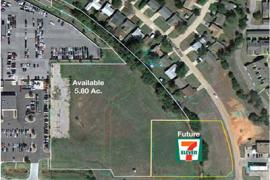 5.8 Ac @ Broadway Extension & Memorial