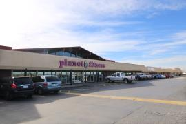 Almonte Shopping Center retail property for sale Oklahoma City exterior