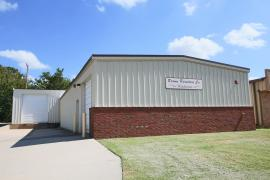 1821 N Kickapoo, Shawnee, OK - Warehouse Building for sale exterior photo