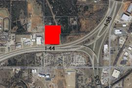Commercial Development Land for Sale - Mirarmar Blvd & I-44 Service Rd - Aerial1