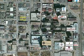Central Business District Land for Sale - 425 Robert S Kerr aerial