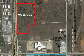 I-35 Frontage Development Land For Sale