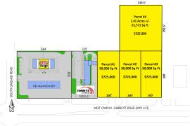 West End Marketplace land for sale NE corner W Owen K Garriott & S Garland Rd, Enid, OK site plan