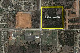 17 Acres - retail or Office Land for Sale  E Danforth Rd & N Coltrane, Edmond - aerial