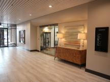 Office Leasing Tips - photo Lobby of the Commerce Center 9520 N May Avenue Oklahoma City OK