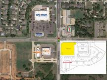 Jackson Creek  Build To Suit / Or Ground Lease retail space Edmond, Ok aerial
