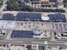 Pioneer Square retail space for lease Stillwater, Ok aerial