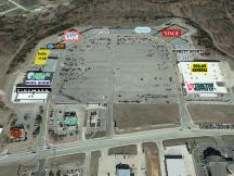 North Hills Shopping Centre retail space for lease Ada, OK aerial