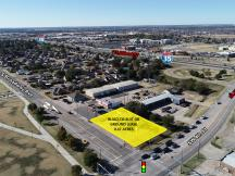 501 S Broadway, Moore, OK - land for Ground Lease or Build-To-Suit-aerial view