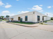 8 NW 8th - Front angle of building office/warehouse space for lease in Oklahoma City, Ok