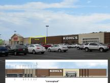 Kohl's Center retail space for lease Fort Smith, AR exterior photo