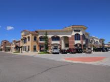Shoppes on Broadway retail for lease exterior photo