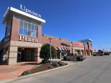 Uptown Plaza retail space for lease exterior photo