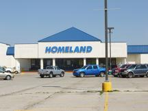 Former Homeland - 122nd & N May retail space for lease Oklahoma City, Ok exterior photo2