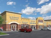 Jackson Creek retail space for lease rendering