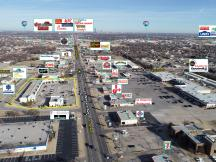 Summit Pointe Plaza retail space for lease Oklahoma City, OK aerial