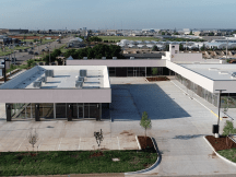 Santa Fe Shops retail/office spaces for lease Oklahoma City, OK aerial