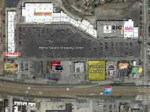 Walnut Square - Pad Site retail space for lease or build to suit aerial