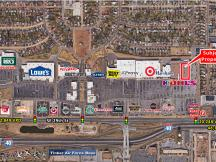Retail space for Lease adjacent to Kohl's on SE 29th St, Midwest city, OK aerial