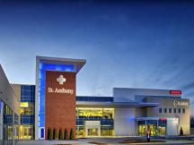 Saint Anthony Mustang Healthplex retail space for lease exterior photo