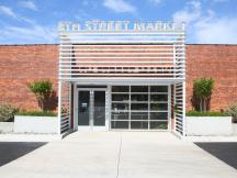 8th Street Market retail space for lease exterior photo